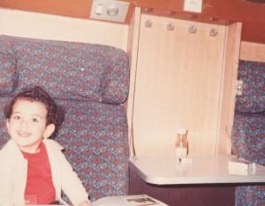 Mahssa Mohegh مهسا محق در کودکی