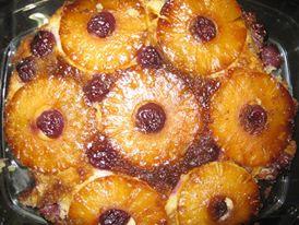 Pineapple Upside Down Cake کیک آناناس برگردان